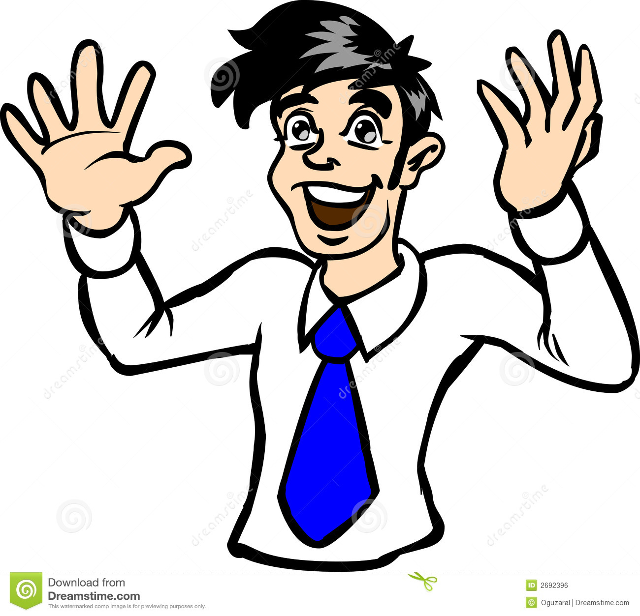 1300x1253 Excited Person Clip Art Clipart