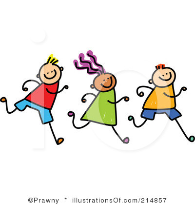 400x420 Child Running Clipart