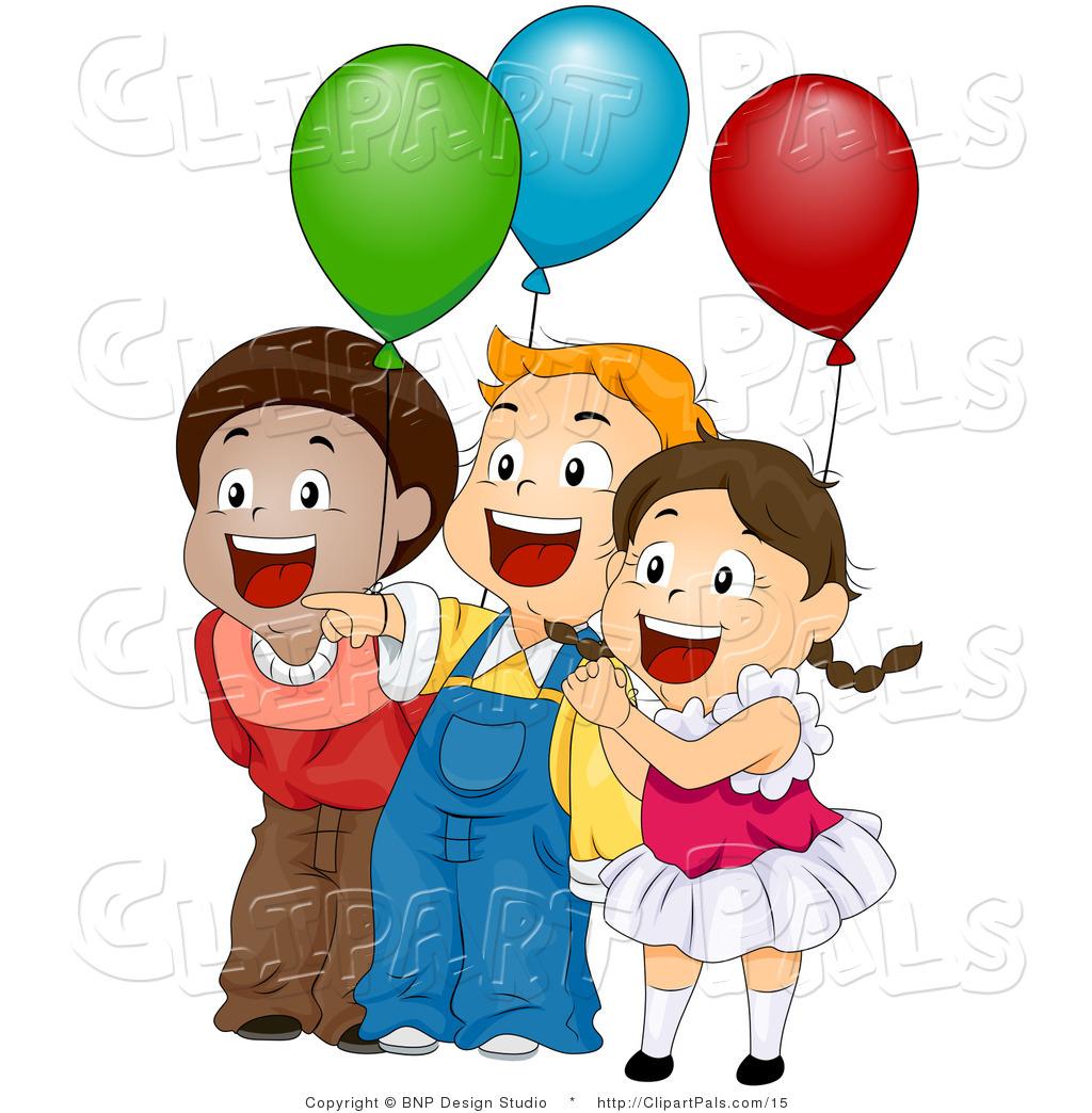 1024x1044 Excited Children Clipart