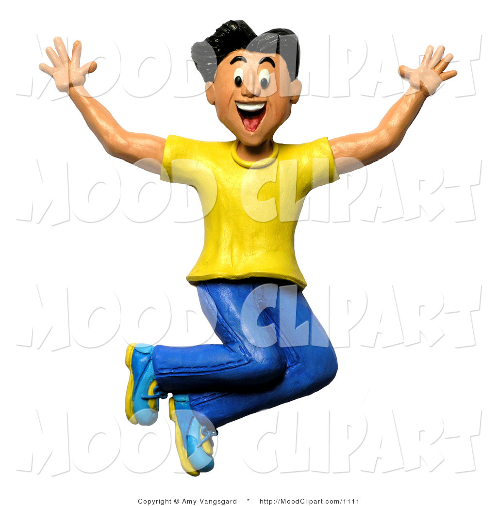 1024x1044 Jump Clipart Excited Boy