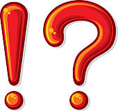 170x160 Exclamation Point And A Question Mark Clip Art