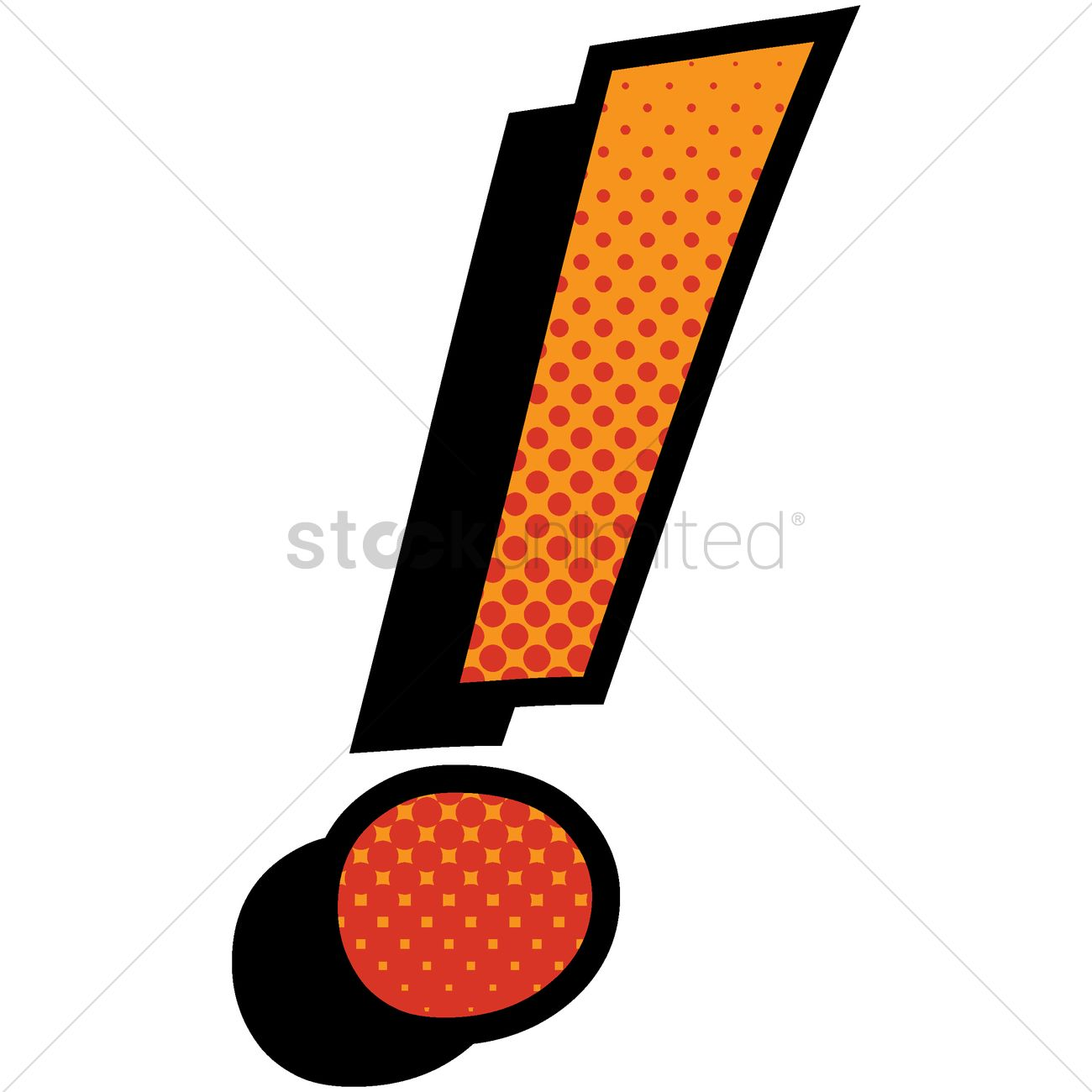 1300x1300 Exclamation Point Vector Image