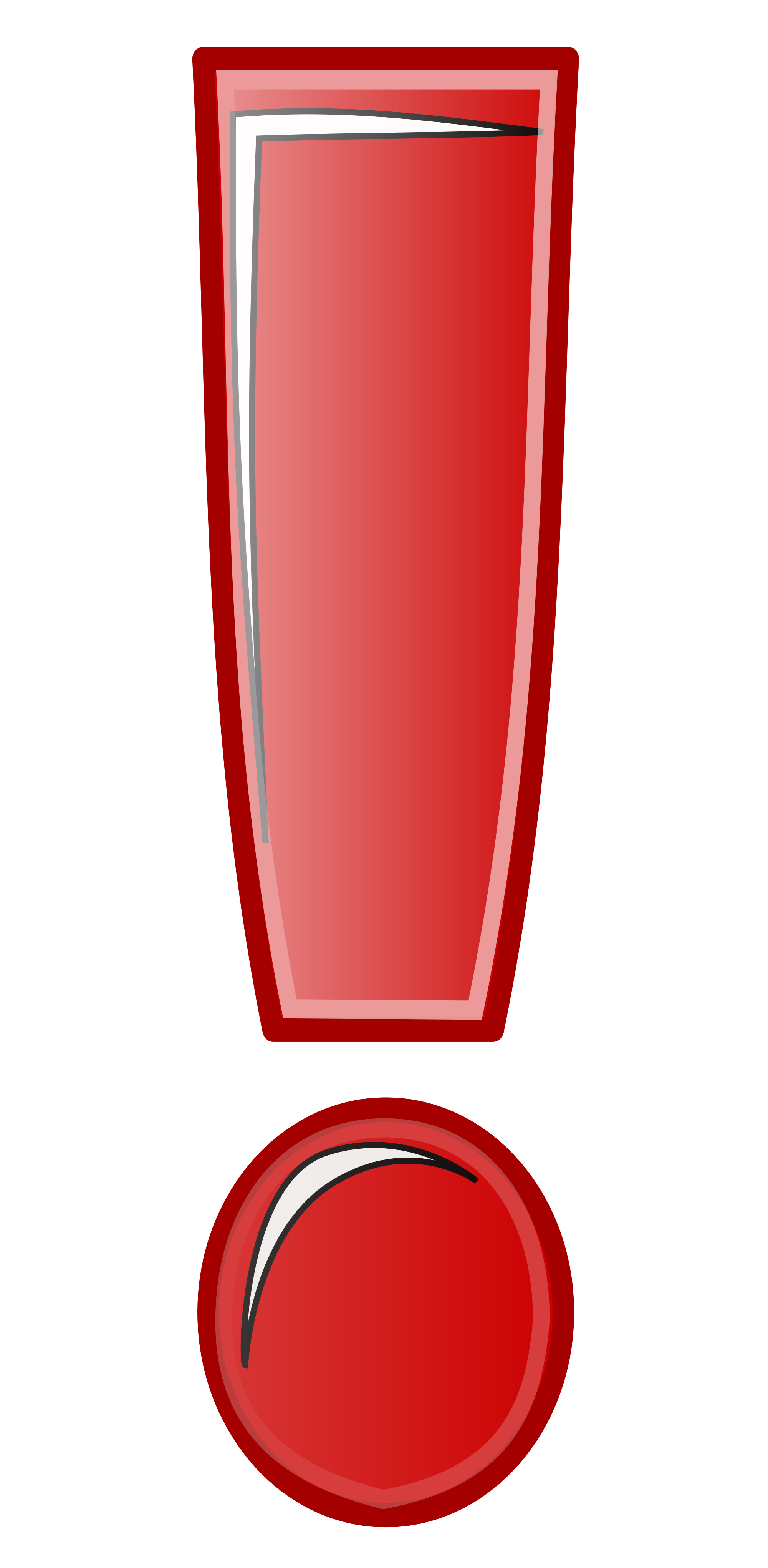 2000x4080 Red Exclamation Mark Clipart