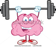 236x200 Sports Clipart Image Of Bodybuilder Holding Barbells In Color