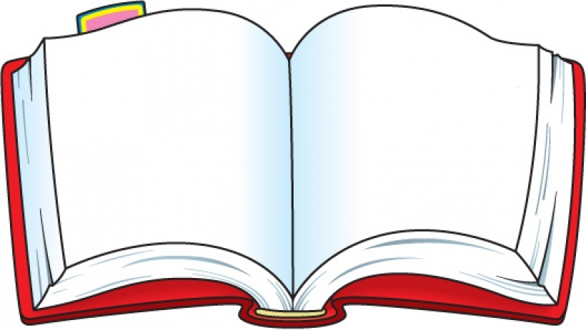 820x463 Book Clipart Red