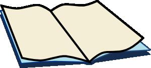 300x136 Book Open Clip Art