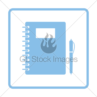 325x325 Cartoon Exercise Book Gl Stock Images