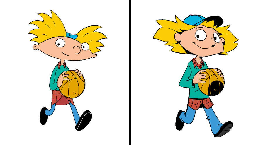 880x495 Artist Does A Style Exercise By Redrawing Childhood Cartoons