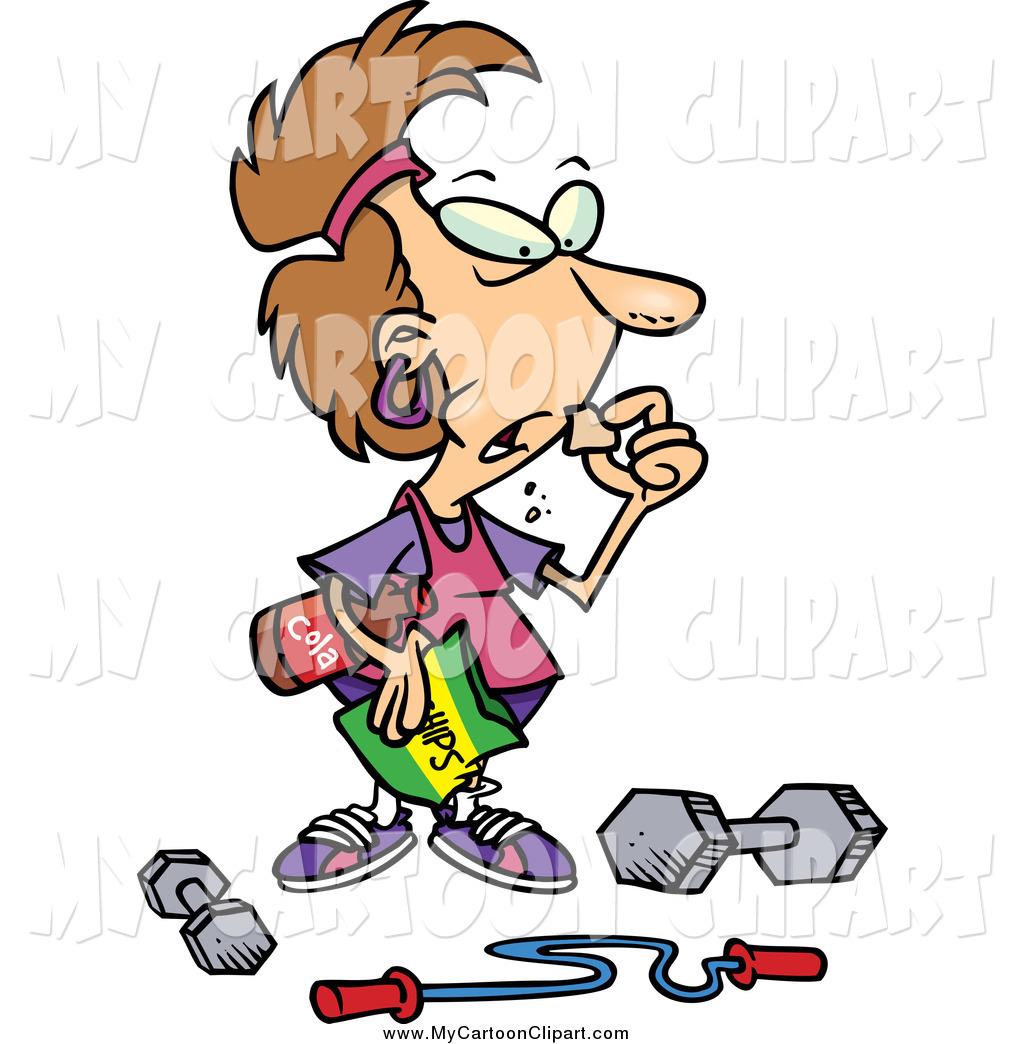 1024x1044 Royalty Free Exercise Stock Cartoon Designs