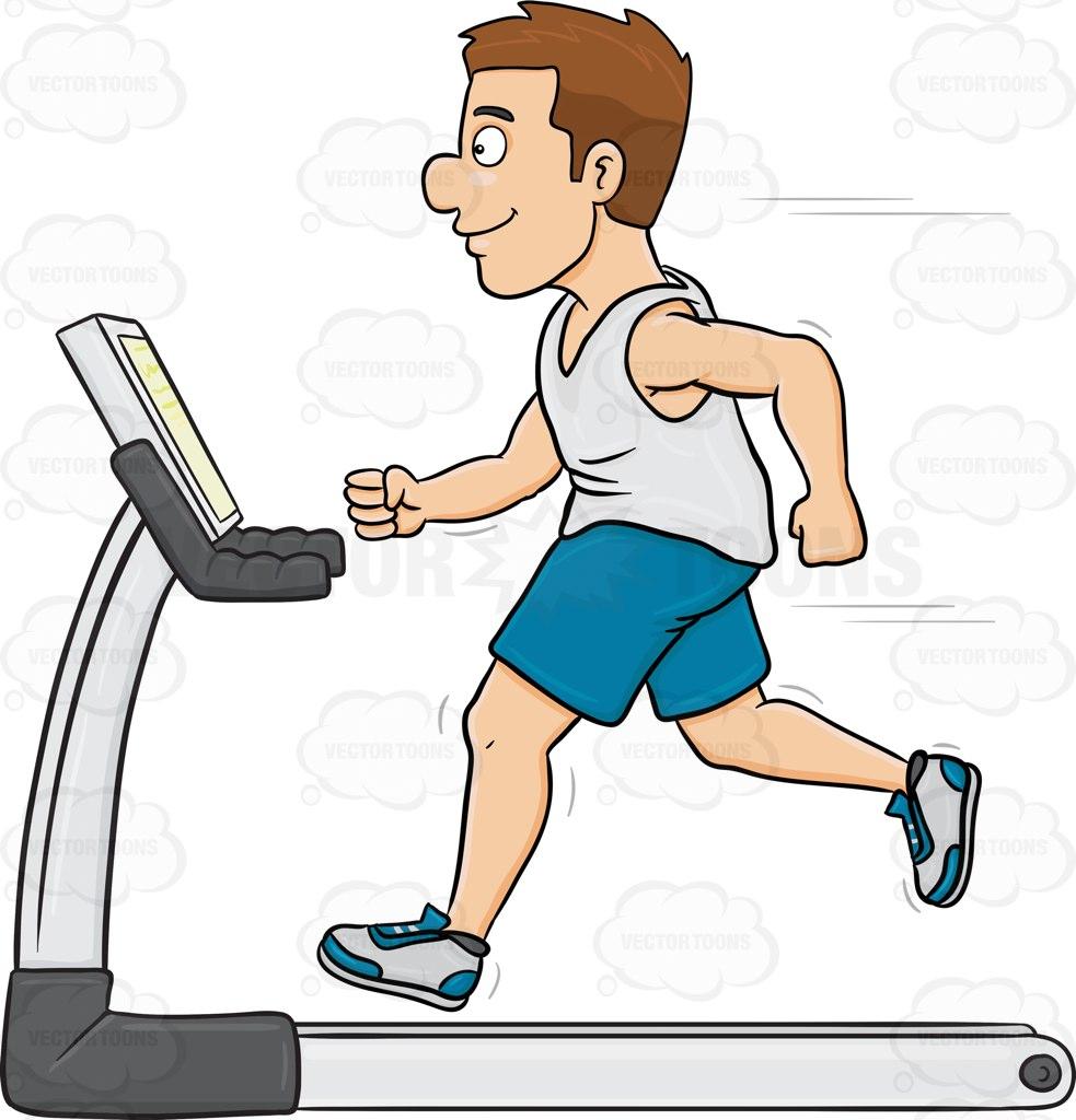983x1024 A Man On A Treadmill