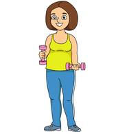 172x195 Free Fitness And Exercise Clipart
