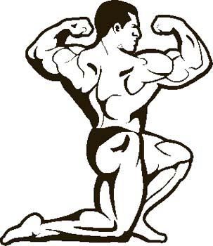 303x350 Fitness Clip Art Cartoon Free Clipart Images 4