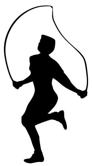 Exercise Clipart Black And White | Free download on ClipArtMag