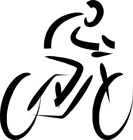 564x595 Bicycle Exercise Clip Art Free Vector In Open Office Drawing Svg