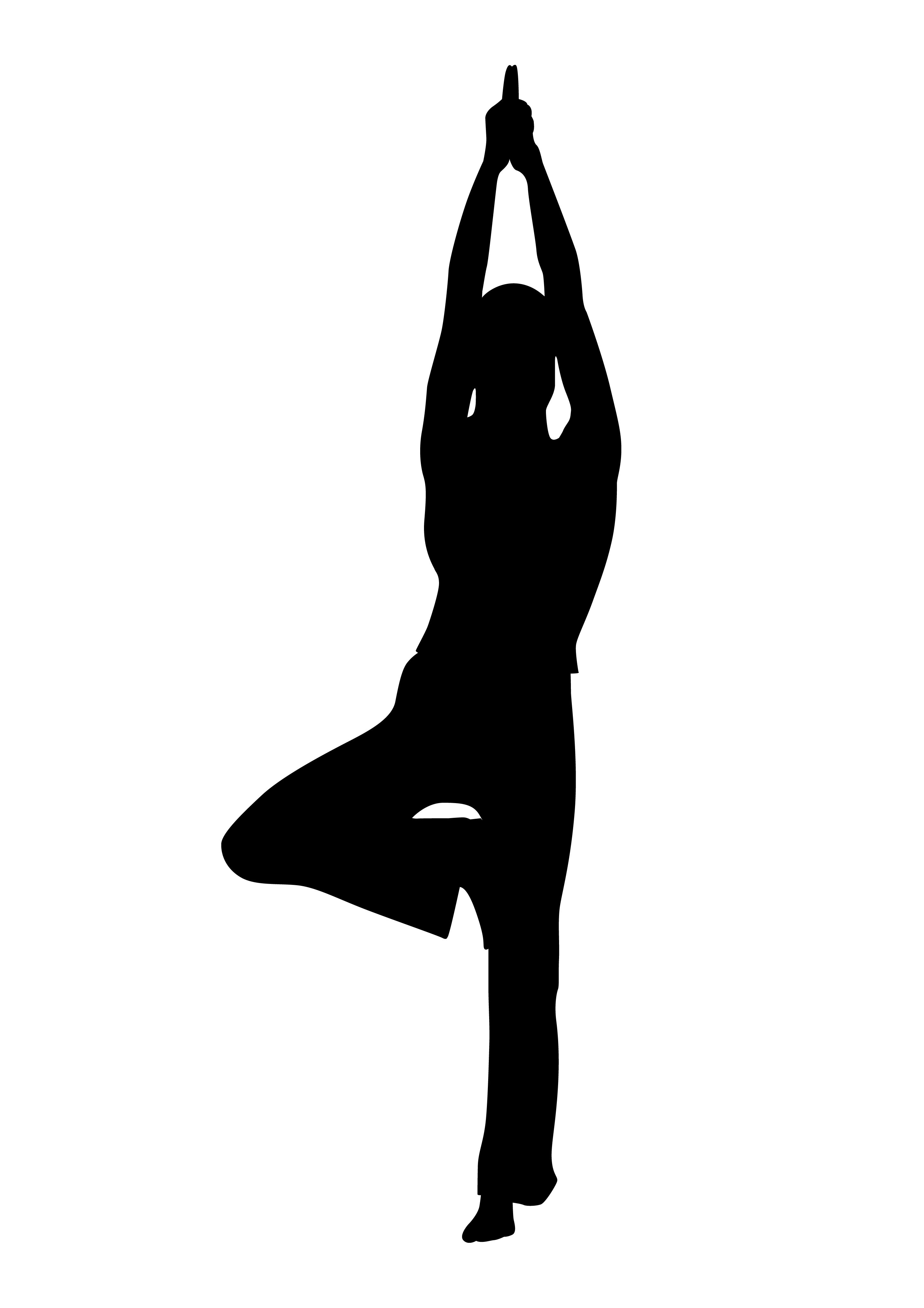 2894x4093 Workout Free Clipart Exercise Woman Black And White Clipartfest