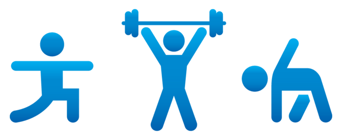 697x286 Free Workout Cliparts 212503