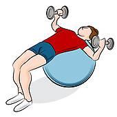 170x170 Exercise Ball Clip Art
