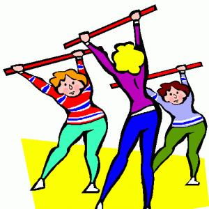 300x300 Toddlers Exercising Cliparts 268365