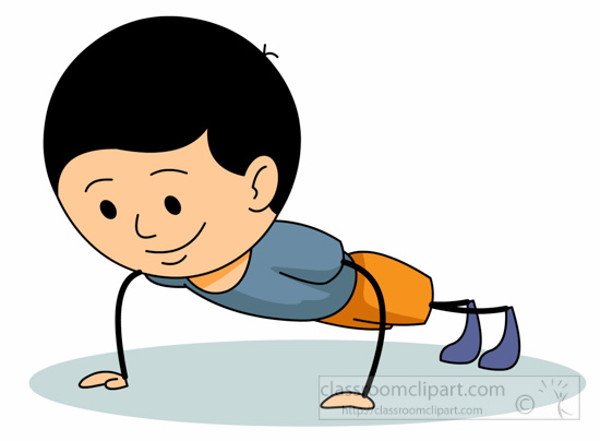 550x404 Exercise Clipart