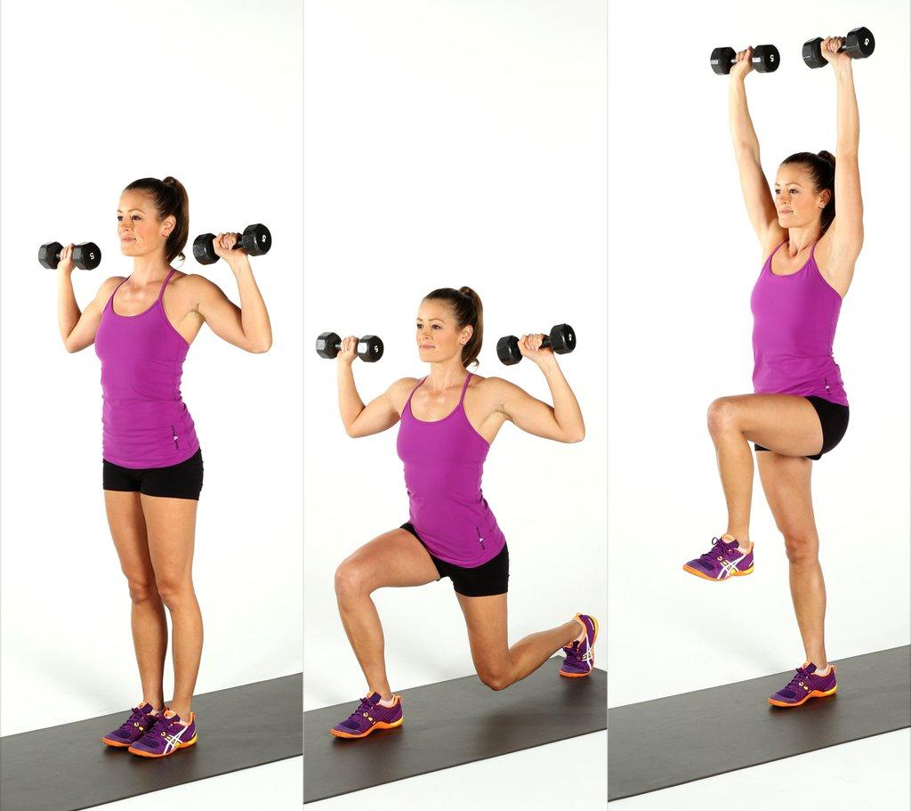 1024x911 Dumbbell Exercises Popsugar Fitness