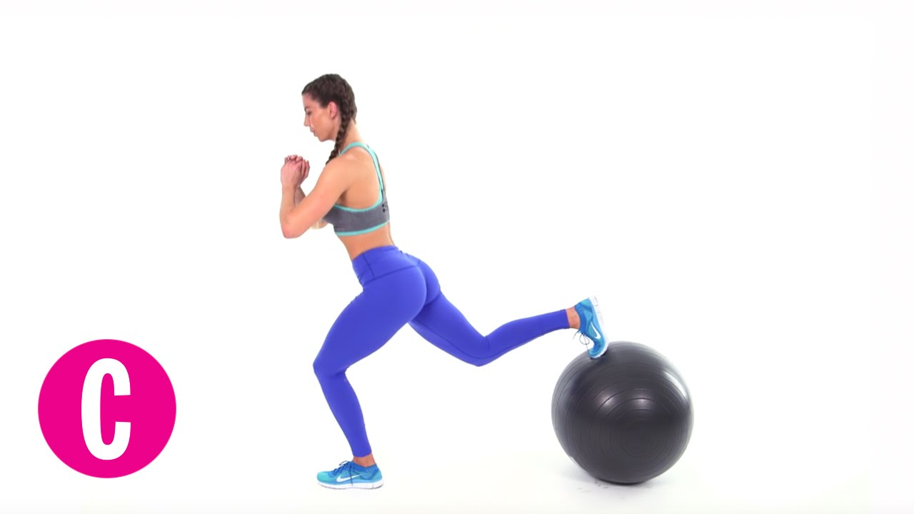 1280x720 6 Exercise Ball Moves To Make Your Butt Round Af Cosmopolitan