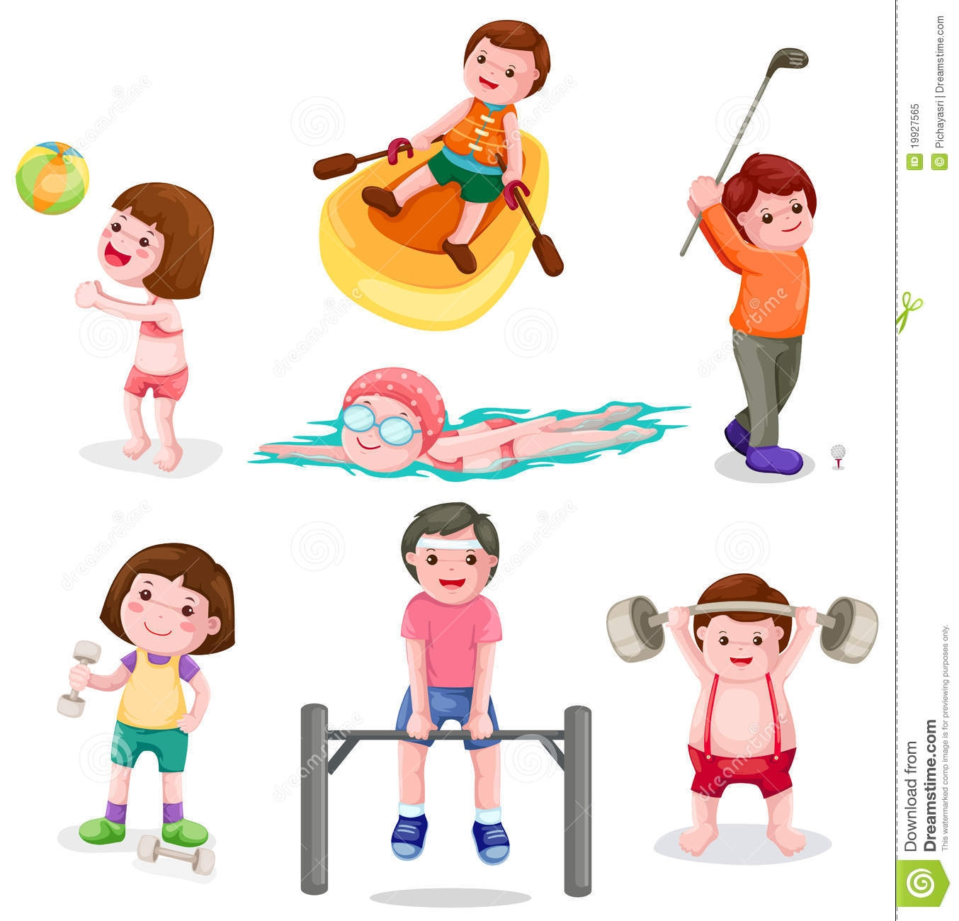 Exercise Pictures Clipart | Free download best Exercise ...