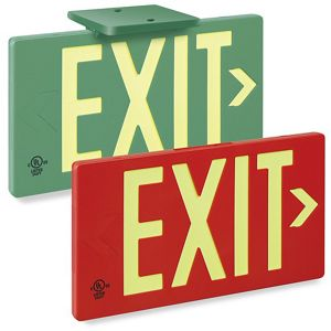 300x300 Exit Signs, Warehouse Safety Signs, Office Door Signs In Stock