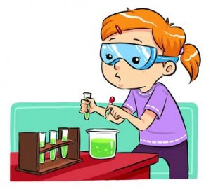 300x270 Science Experiment Clipart
