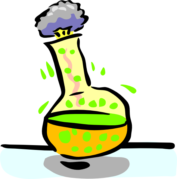 588x597 Chemical Experiment Clip Art
