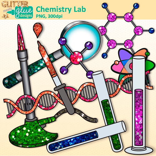 500x500 Element Clipart Chemistry Experiment