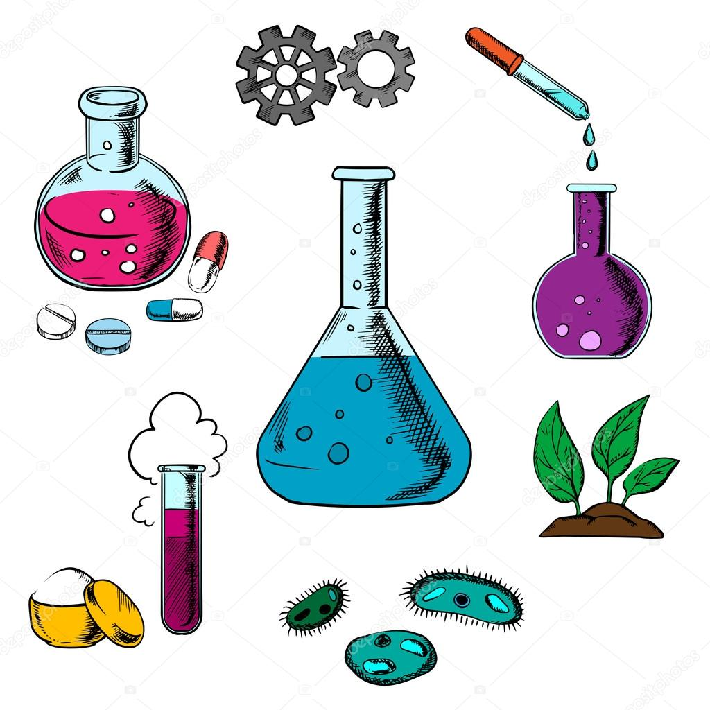 1024x1024 Elements Clipart Scientific Experiment