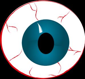 299x276 Bloodshot Eyeball Clipart Free Images 2