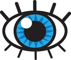 300x252 Blue Eyes Clipart Eyeball