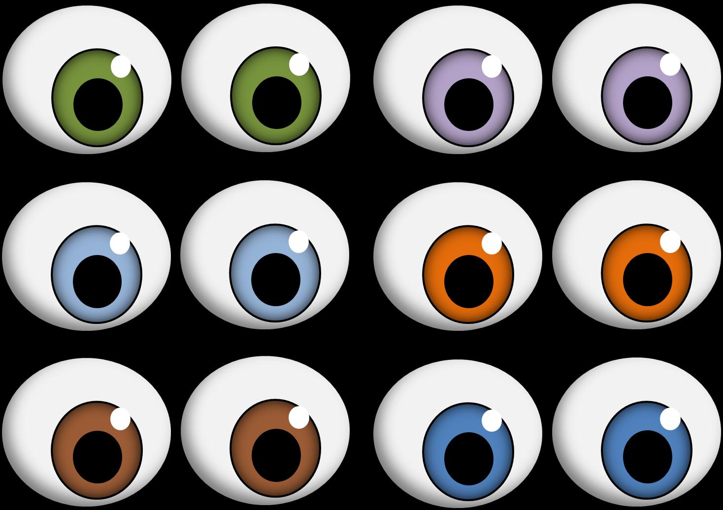 1468x1036 Eyeball Monster Eyes Clipart Getbellhop 2