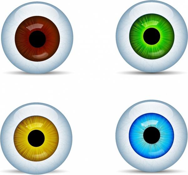 600x558 Eyeball Vector Free Vector Download (30 Free Vector)