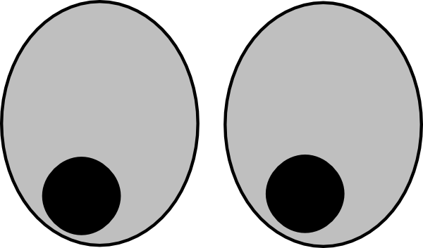 600x353 Eyeballs Eyes Cartoon Eye Clip Art Clipart Image 0