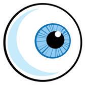 170x168 Clipart Of Eye Ball K8834340