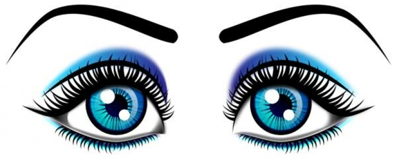 820x328 Eyes Black And White Clipart Eyes Black And White With Eyelashes