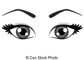 270x194 Clipart Eyes Black And White With Eyelashes