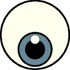 300x300 Eyeball Eye Clip Art Black And White Free Clipart Images 3 Image 2