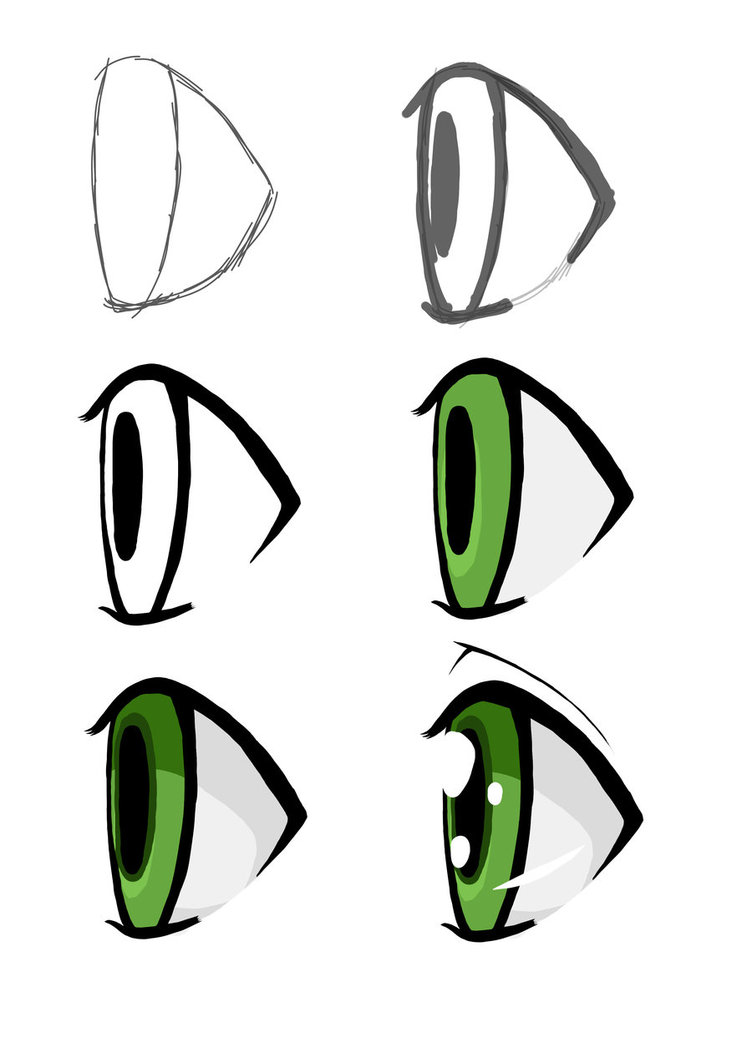 752x1063 Eye Clipart From Side