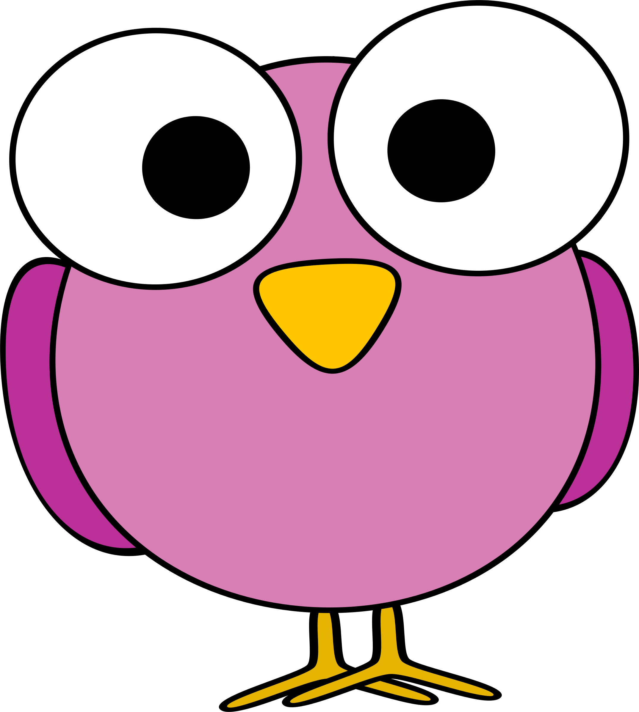 2148x2396 Pink Eyes Clipart Cartoon