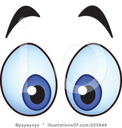 400x420 Eyes Clip Art