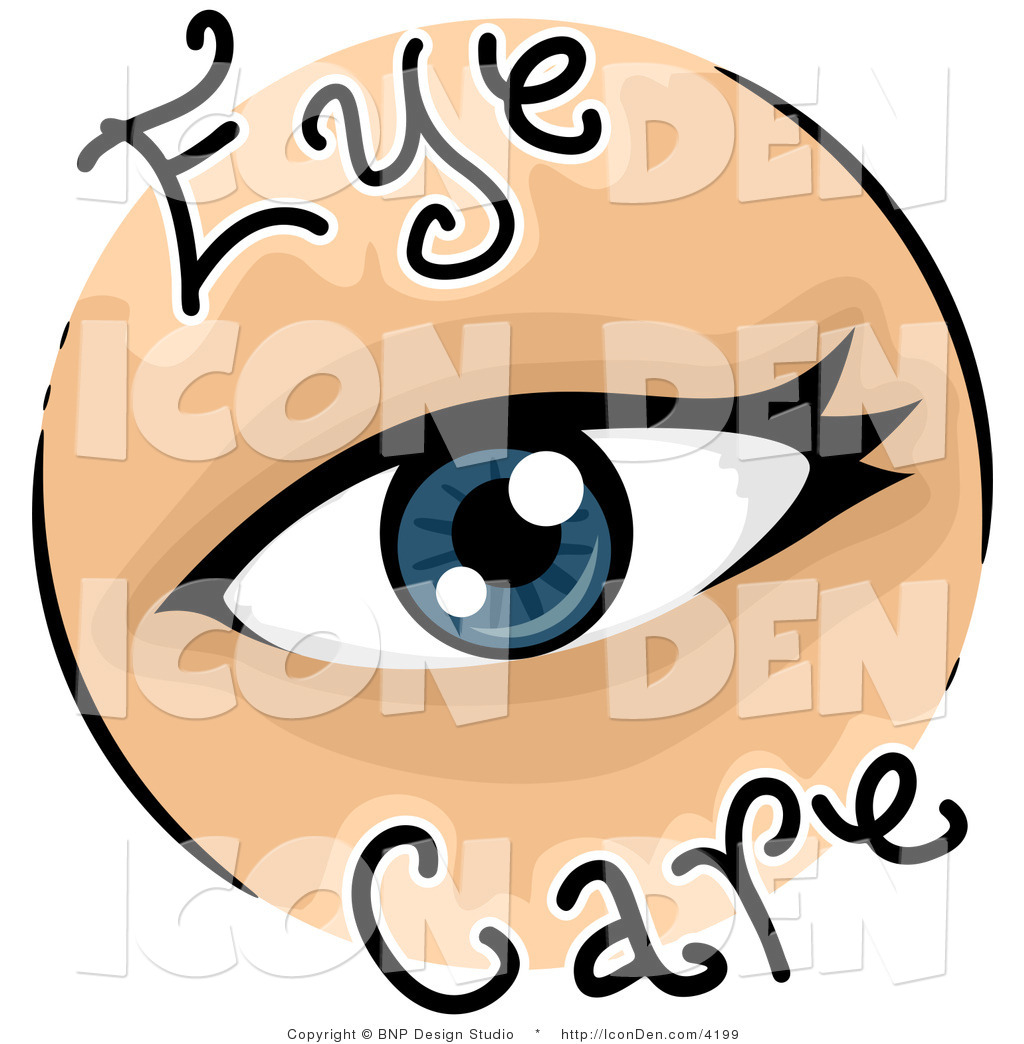 1024x1044 Clip Art of an Eye Care Vision Icon by BNP Design Studio