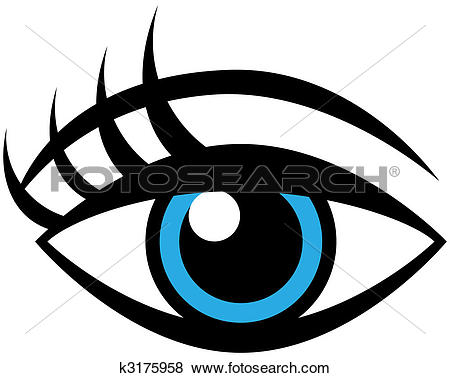 450x378 Clip art of an eye clipart
