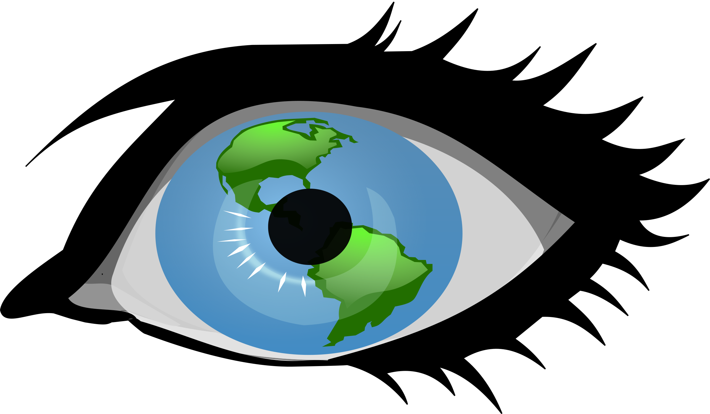 2400x1400 Eyeball clipart eye vision