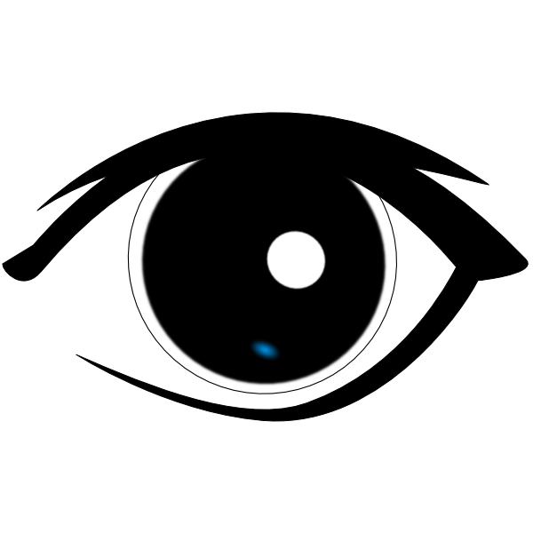 600x600 Eyes clip art the cliparts