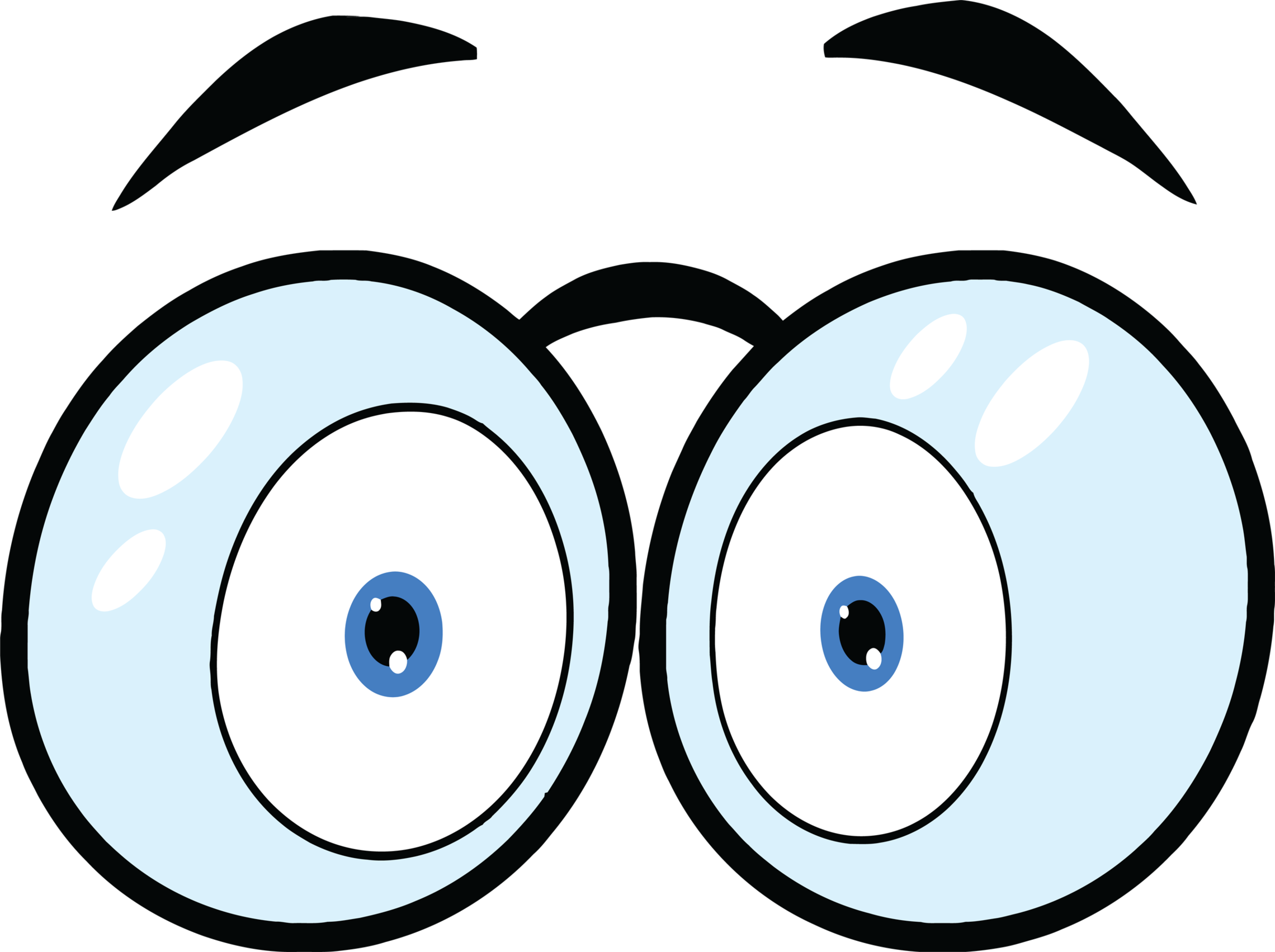 2280x1703 Animated eyes clip art clipart free to use resource clipartbarn