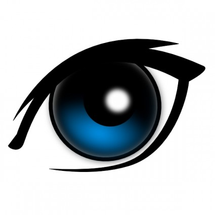 425x425 Blue Eyes Clip Art Download