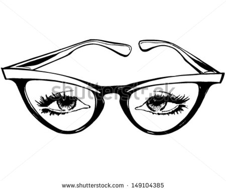 450x380 Animated Eye Glasses Clip Art